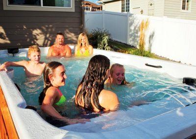 swim spa family2 fun